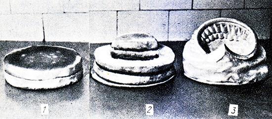 208. Фазы изготовления торта