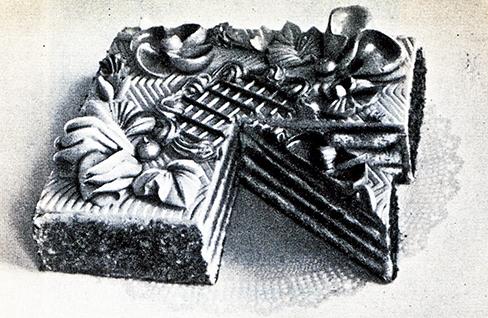 210. Бисквитный торт